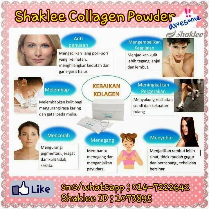 Kelebihan Shaklee Collagen Powder