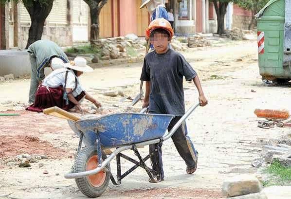 Explotación infantil en Bolivia