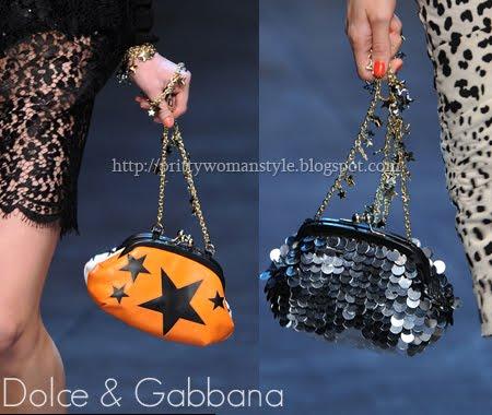 Dolce & Gabbana чанти с пайети