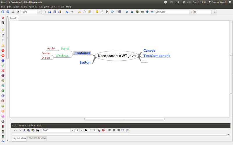 FreeMind Mind Mapping Software