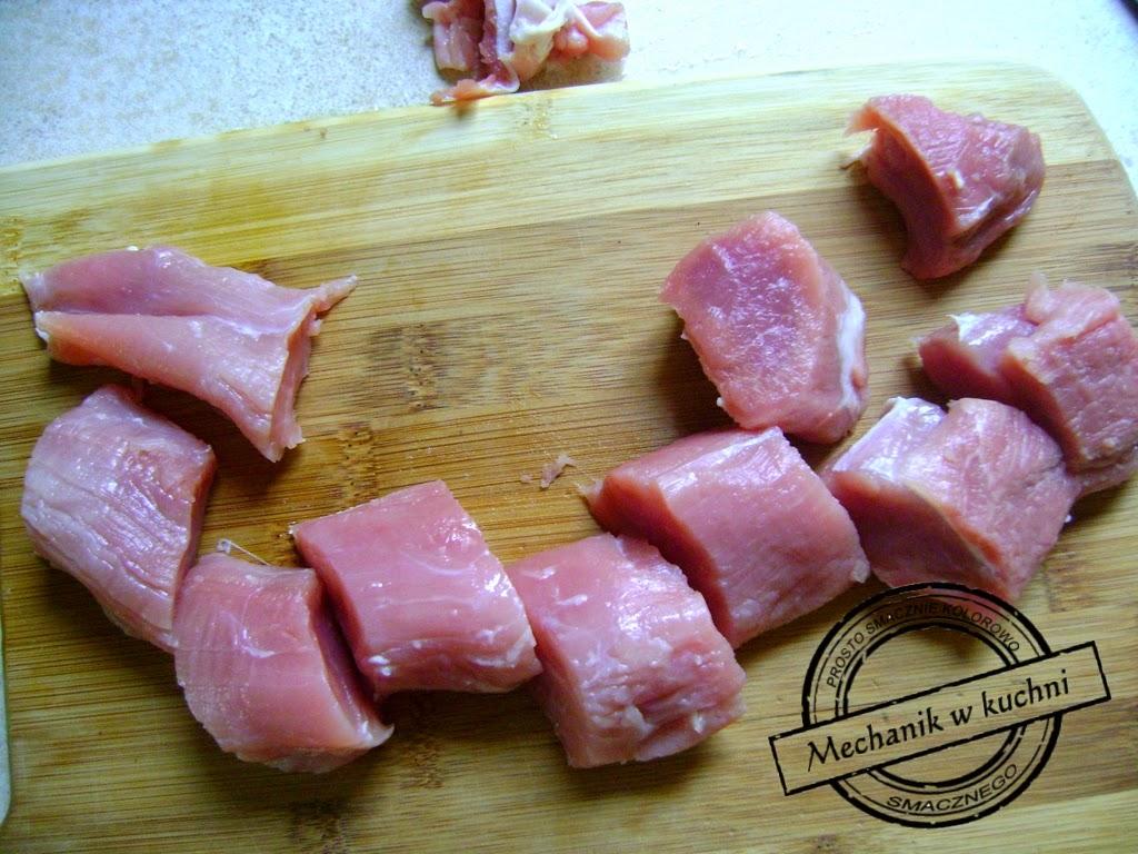 Polędwica wieprzowa w serowym kapturze Mechanik w kuchni Promocja Lidl