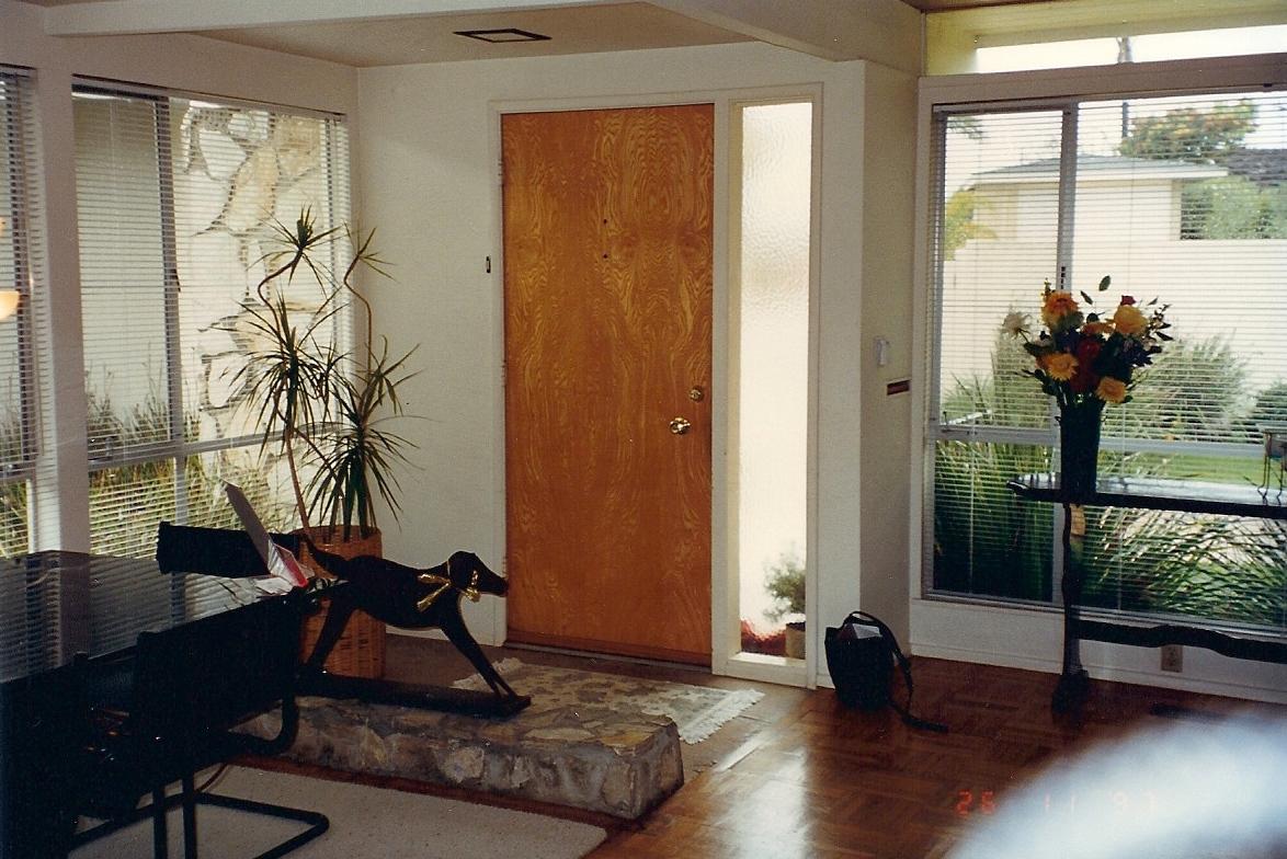 Pict mid century modern window shades 11 - Interior Mid Century Modern Door
