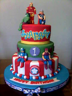 Birthday and Party Cakes The Avengers Birthday Cakes