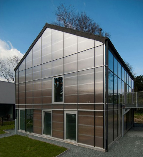 Modern Designs Eco Friendly Green House Carl Verdickt