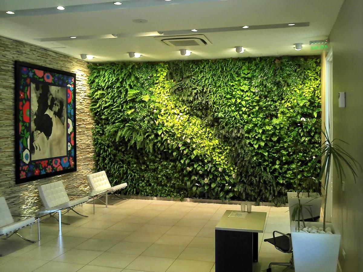 Arquiempresas disfrutar de espacios verdes y naturales en for Jardin vertical interior casa