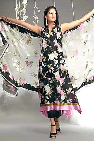 summer+dress+02 Pakistani Designers Summer Lawn Collection 2012