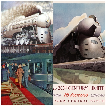 20th century limited, treno