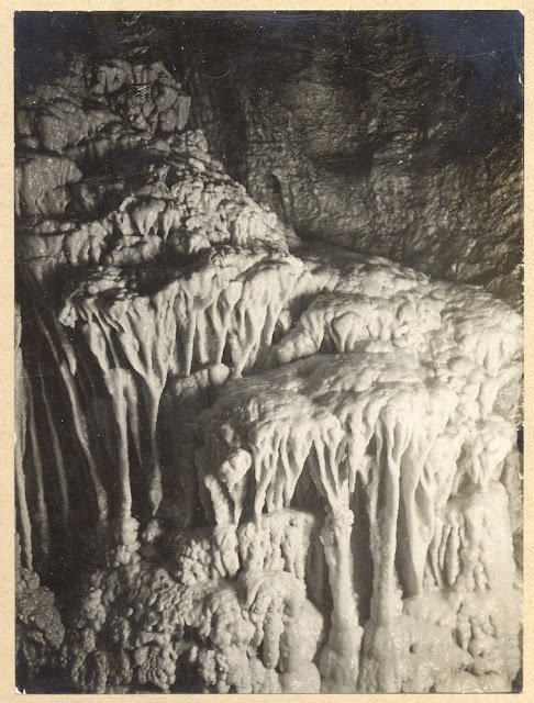 Barnes Loop. Tratman's Temple, Swildon's Hole, cave near Priddy, Mendips, Somerset.1921.
