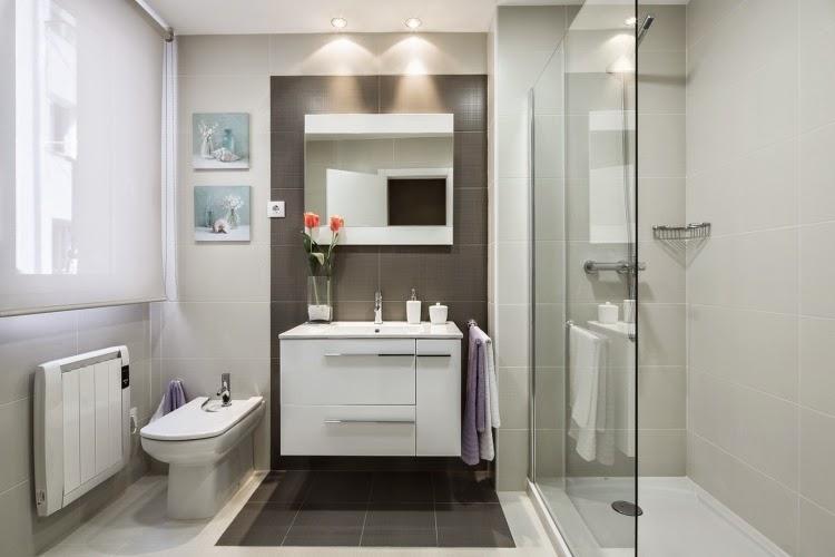 Ba os modernos con ducha fotos - Banos modernos pequenos con ducha ...