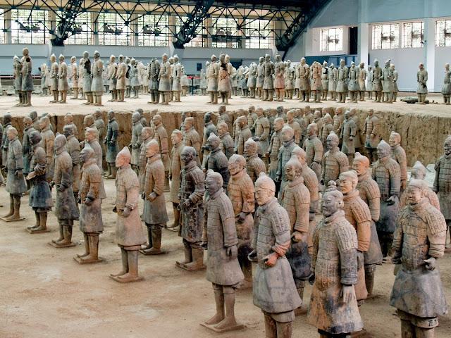 Guerreros de Terracota, Xian