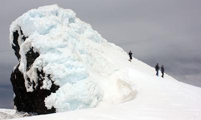 Eyjafjallajokull summit