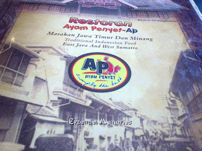 Restoran Ayam Penyet ~ AP