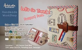 WorkShop : Let's Go Travel Passport Purse 22/03