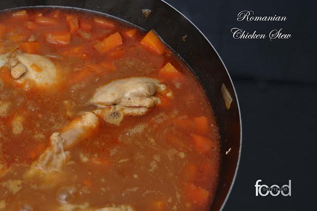 Romanian Chicken Stew ~ Simple Food