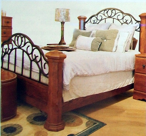 Rod Iron Bed Sets