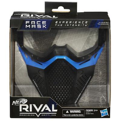 TOYS : JUGUETES - NERF Rival  Face Mask : Team Blue | Máscara - Protección Cara Producto Oficial 2015 | Hasbro B1617 | A partir de 14 años Comprar en Amazon España | Buy Amazon USA