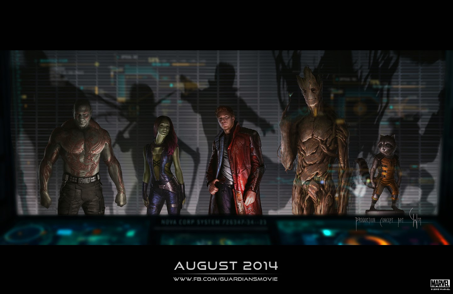 Image and synopsis from guardians of the galaxy galactic news one