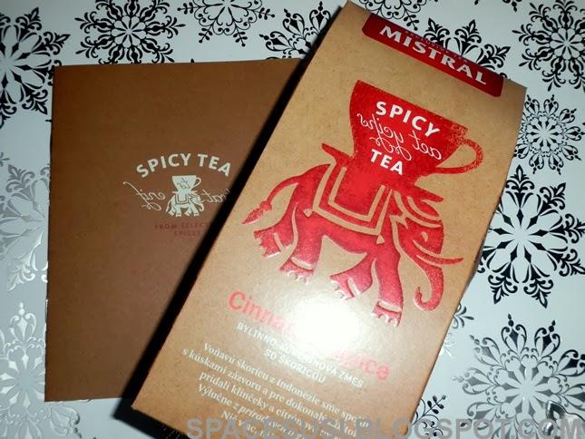 čaj, pyramidový čaj, Spicy Tea