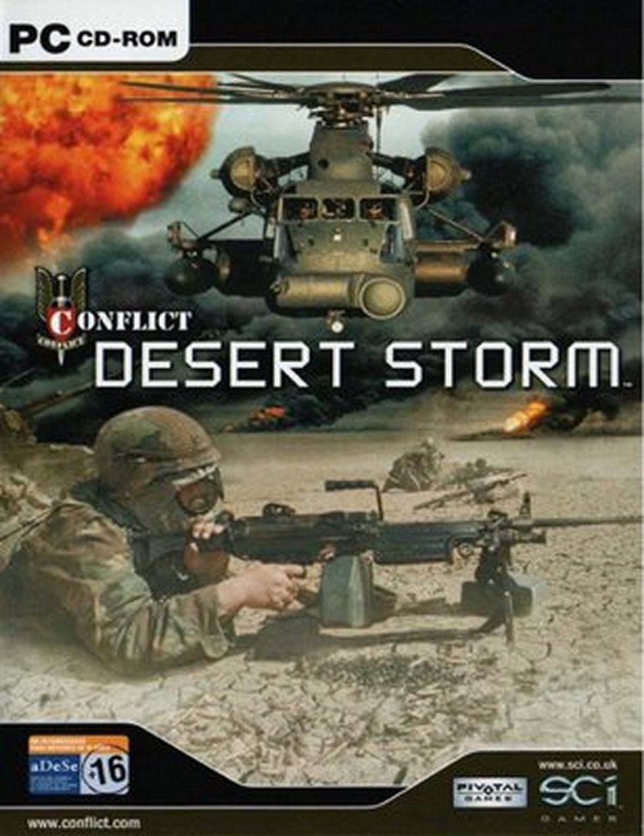 Conflict Desert Storm 2 PC Game - Free Download Full Version