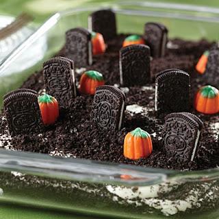 Torta de Bolacha decorada para Halloween