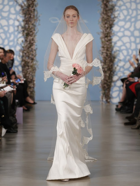 Oscar de la Renta Spring 2014 Mermaid Wedding Dresses