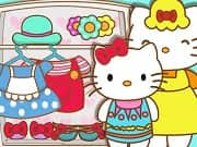Hello Kitty And Mom Matching OutfitsHello Kitty is the most popular kitty in the world and also the cutest one. Like any other kitty, she has a caring mother that loves to dress her up and make her happy all the time. In the game Hello Kitty And Mom Matching Outfits, you have the challenge to choose pretty matching outfits for the mother and daughter.
