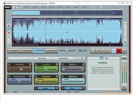 Magix audio cleaning lab 2005 deluxe.