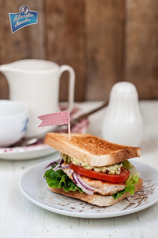 Sandwich z kurczakiem przepis
