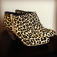 Shoes, boots, booties, leopard, fashion