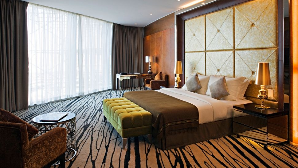Passion for luxury meydan hotel in dubai for horse race for Most expensive hotel room in dubai