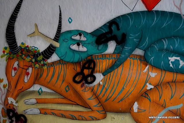 Warszawa Warsaw bemowo fortyfikacje mural streetart