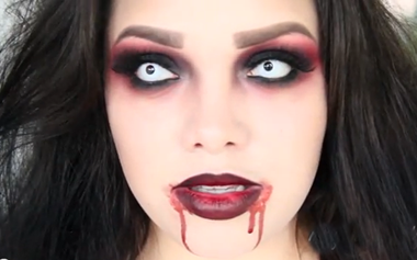 Maquillaje halloween mujer vampiro Trucos de Mujer