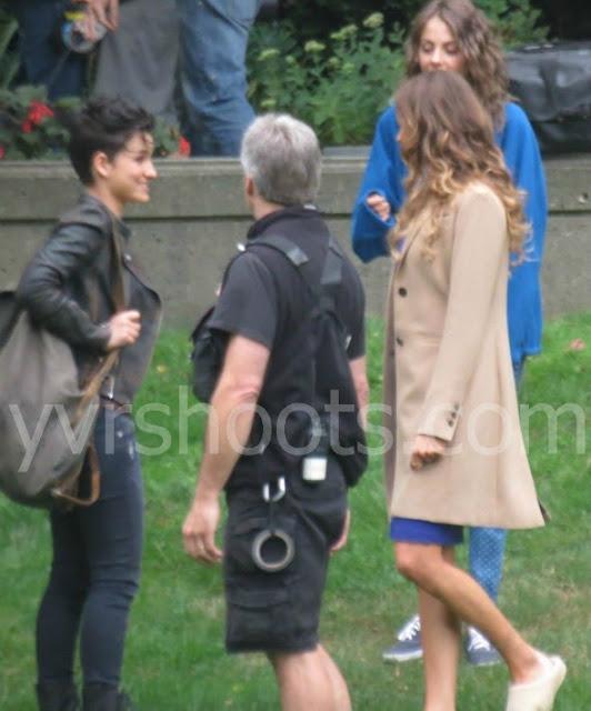 Arrow - Season 2 - Set Photos - 19th August 2013