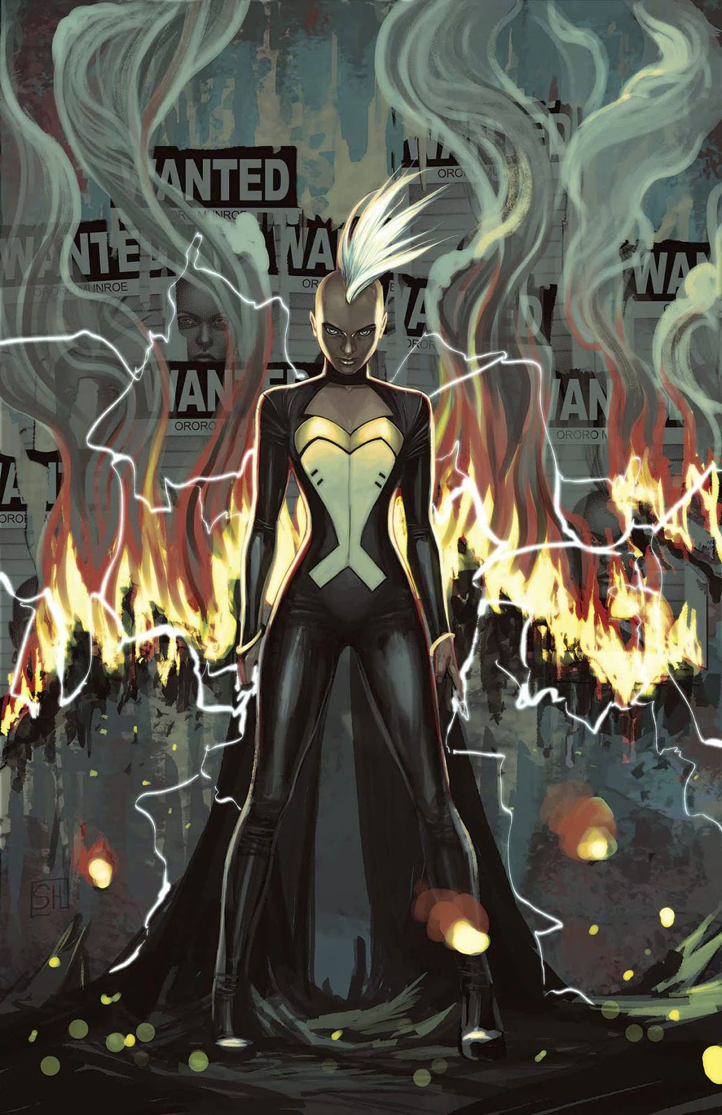 Storm lights up the issue