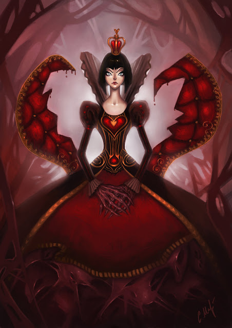 Queen of Hearts por Miragenathalen