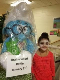 Brainy Smurf Raffle