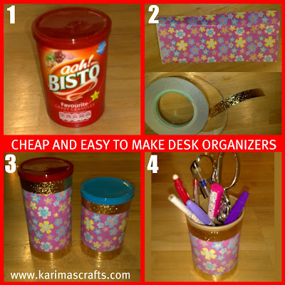 desk tidy tutorial
