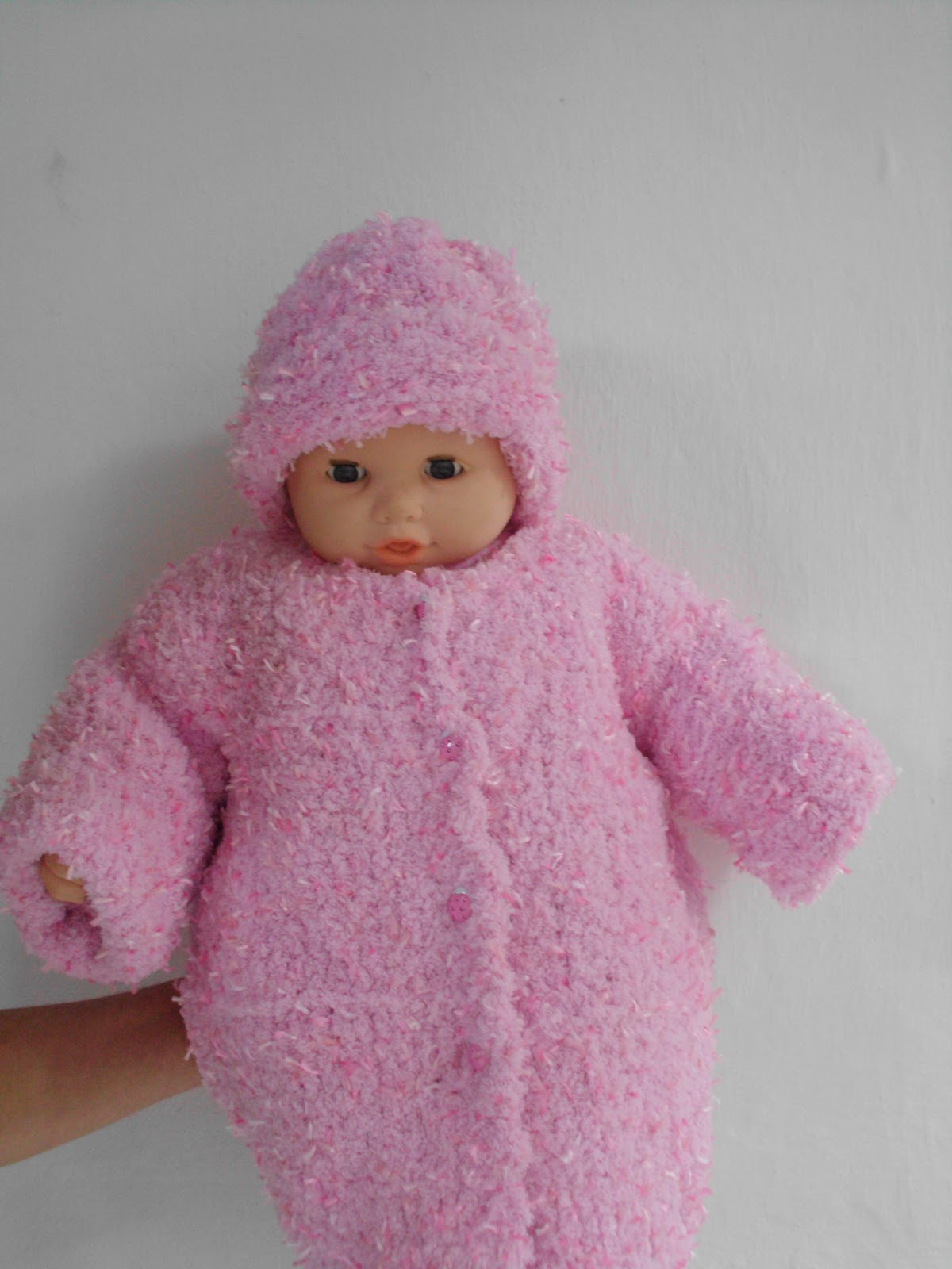 Muitas vezes Artesanatos da Ceissa: sobretudo de bebe em trico com o fio  EW47