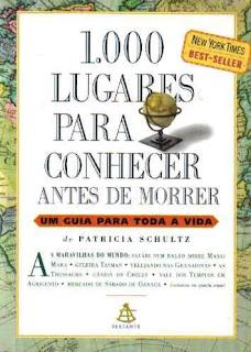 """Livro """"1.000 lugares para conhecer antes de morrer"""""""