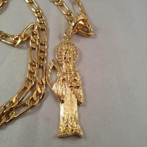 Santa Muerte rosario