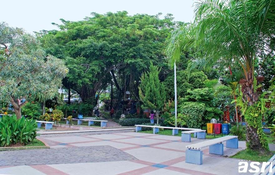 Taman Bekapai di Siang Hari