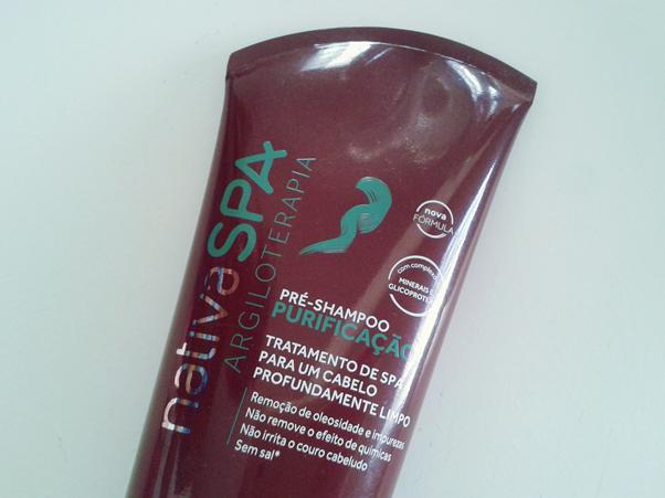 Resenha: Pré-Shampoo Boticário Nativa Spa Purificação Esfoliante