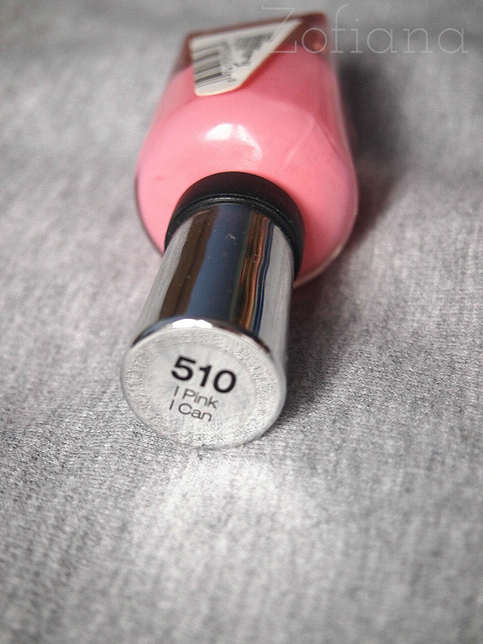 sally hansen 510 i pink i can