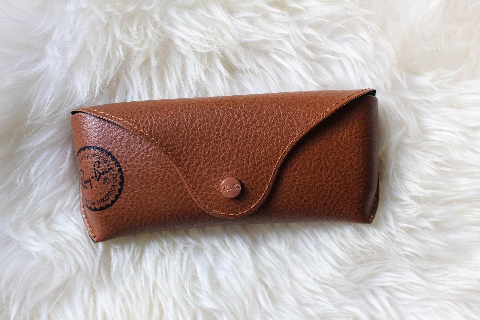 rayban leather case, sunglasses, rayban, style,