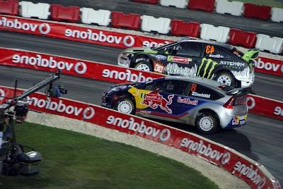 Ken Block y Kimi Raikkonen - Rally Portugal