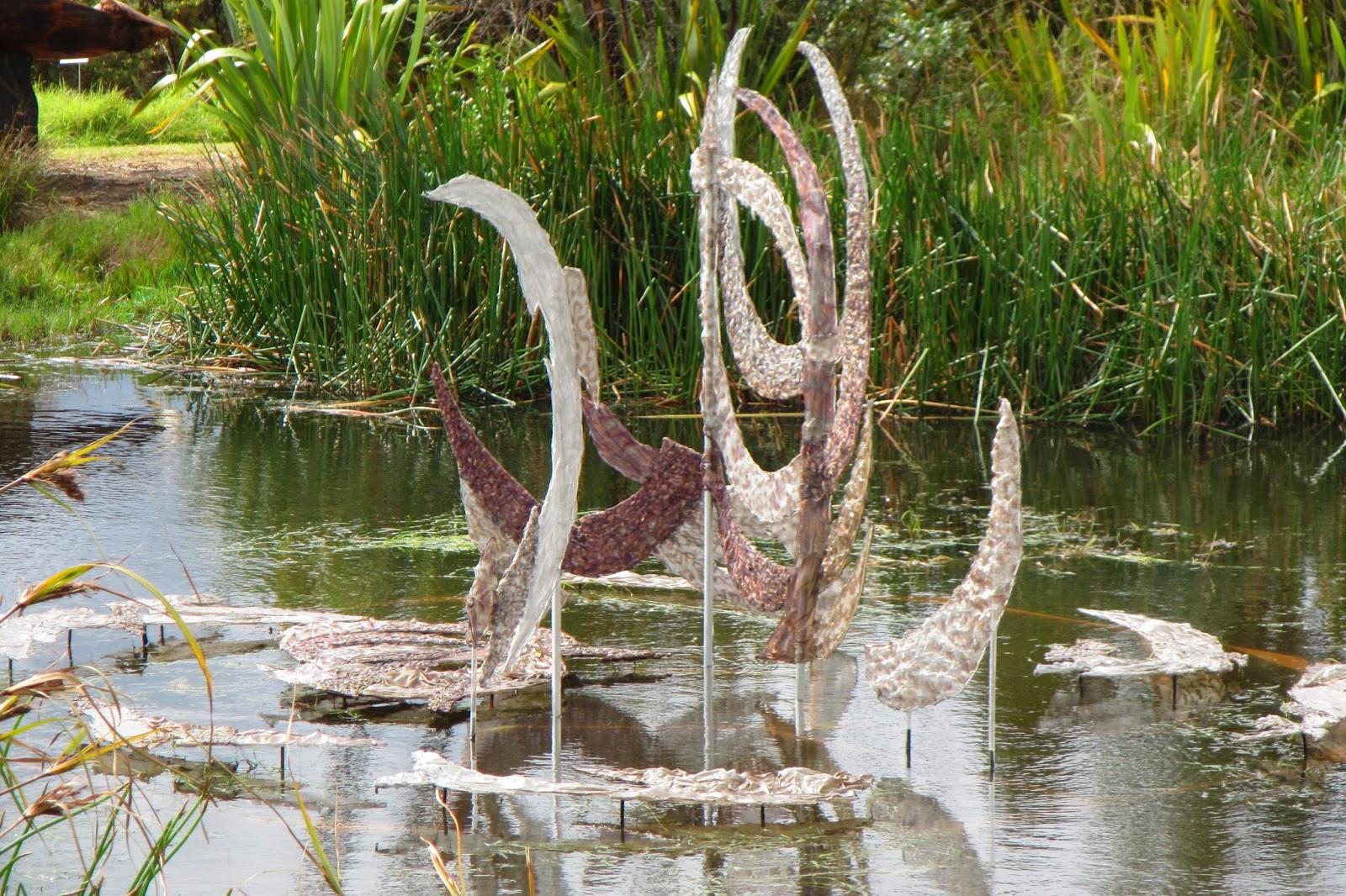 Light Dancing fabric sculpture by Alysn Midgelow-Marsden