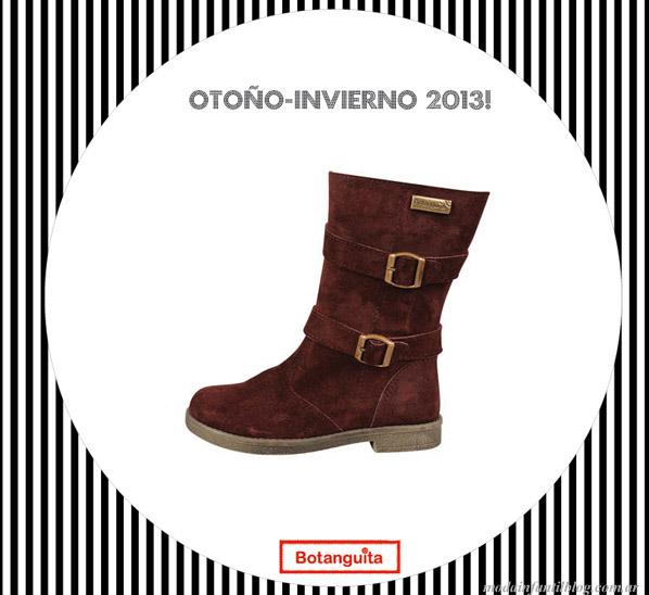 calzado infantil botanguita invierno 2013