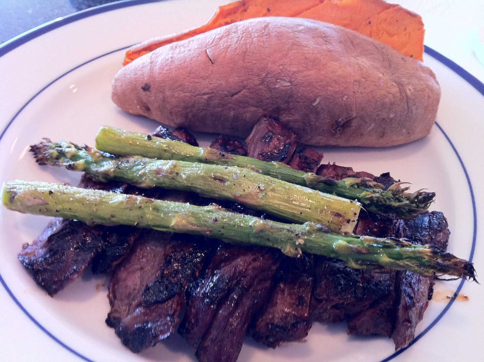 Asian Marinated Grilled Skirt Steak - Recipes4EveryKitchen