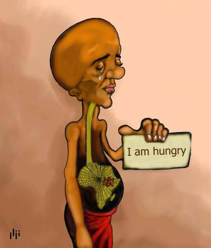 I Am Hungry Anonymous Art Of Revolution