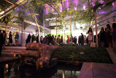 Michael Ovitz MoMA Party in the Garden